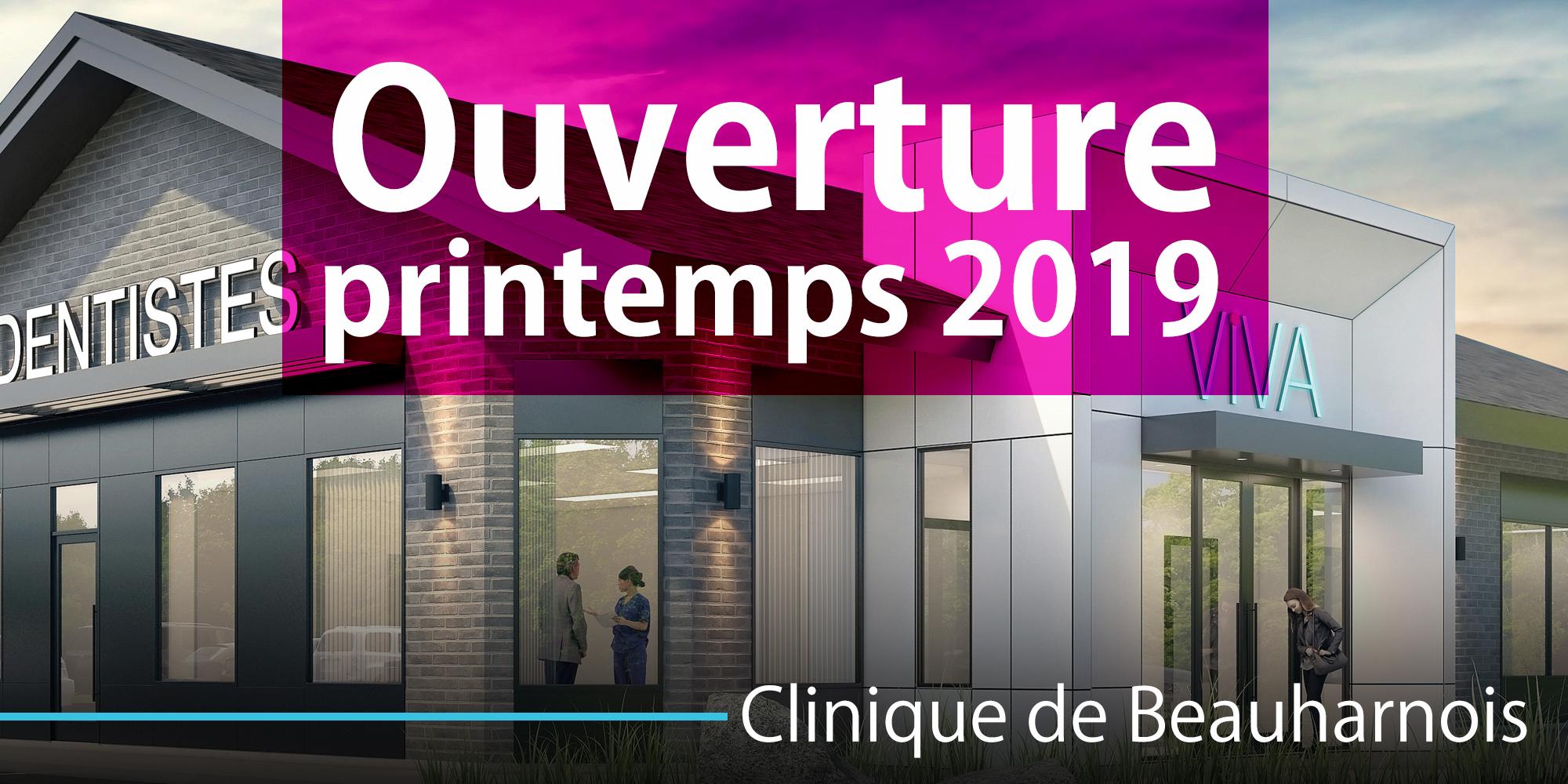 Dentiste VIVA beauharnois printemps 2019