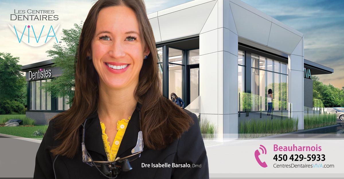 Dentiste Isabelle Barsalo à Beauharnois